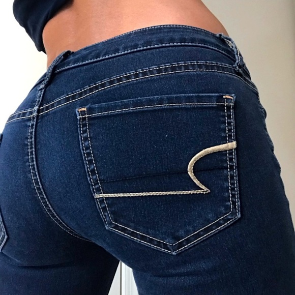 American Eagle Jegging Skinny low rise jeans 2